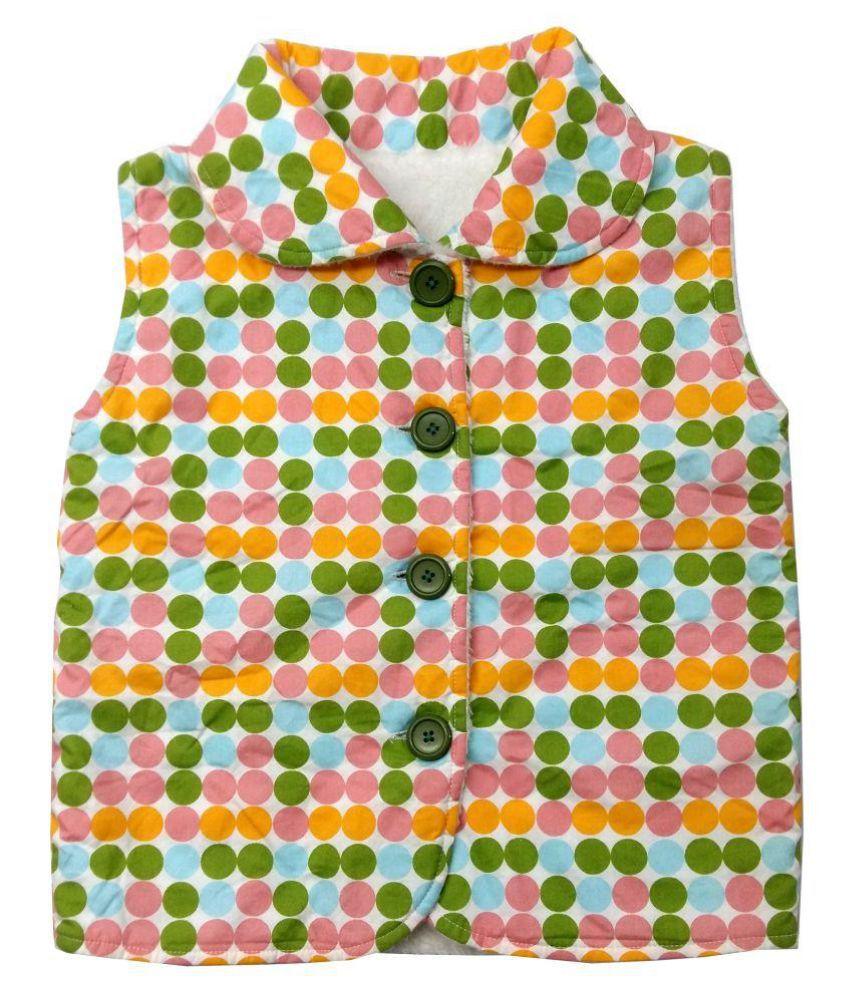 Always Kid Multi Dot Lamby Vest