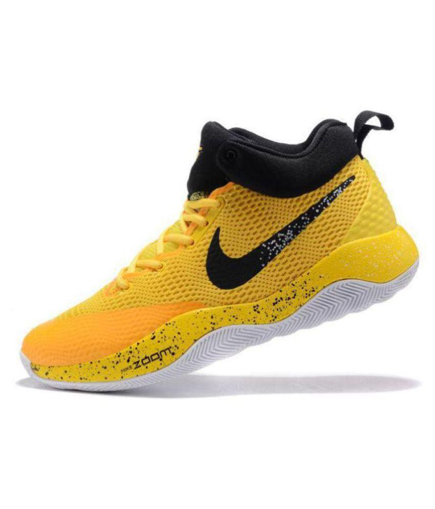 661112fc509 Nike ZOOM REV EP Limited Edd Yellow Basketball Shoes - Buy Nike ZOOM REV EP  Limited Edd Yellow Basketball Shoes Online at Best Prices in India on  Snapdeal