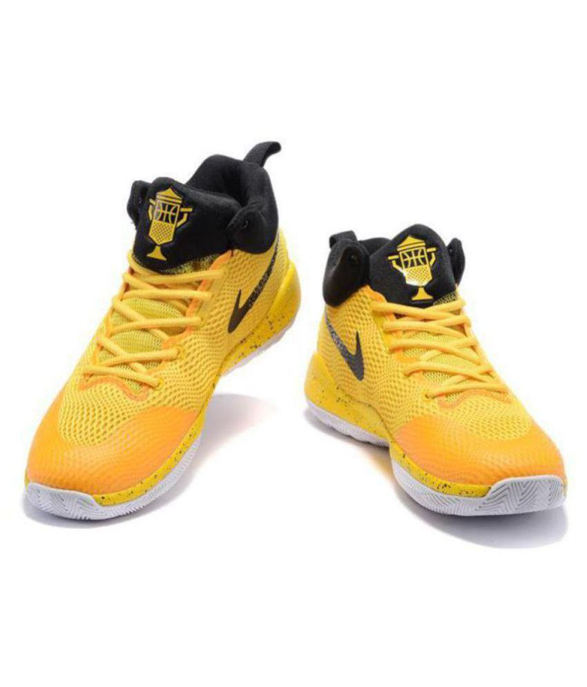 4db094079a7c Nike ZOOM REV EP Limited Edd Yellow Basketball Shoes - Buy Nike ZOOM ...