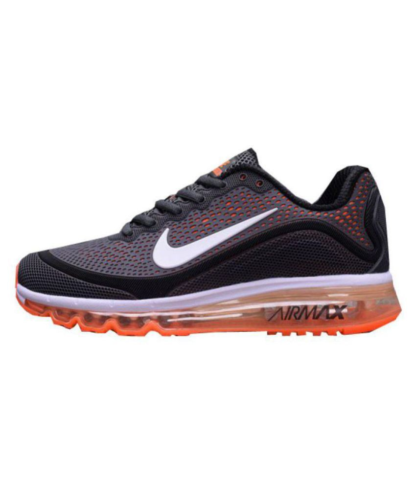 competitive price 06d1e e3fa9 Nike Air Max 2018 Orange Running Shoes - Buy Nike Air Max 2018 Orange Running  Shoes Online at Best Prices in India on Snapdeal