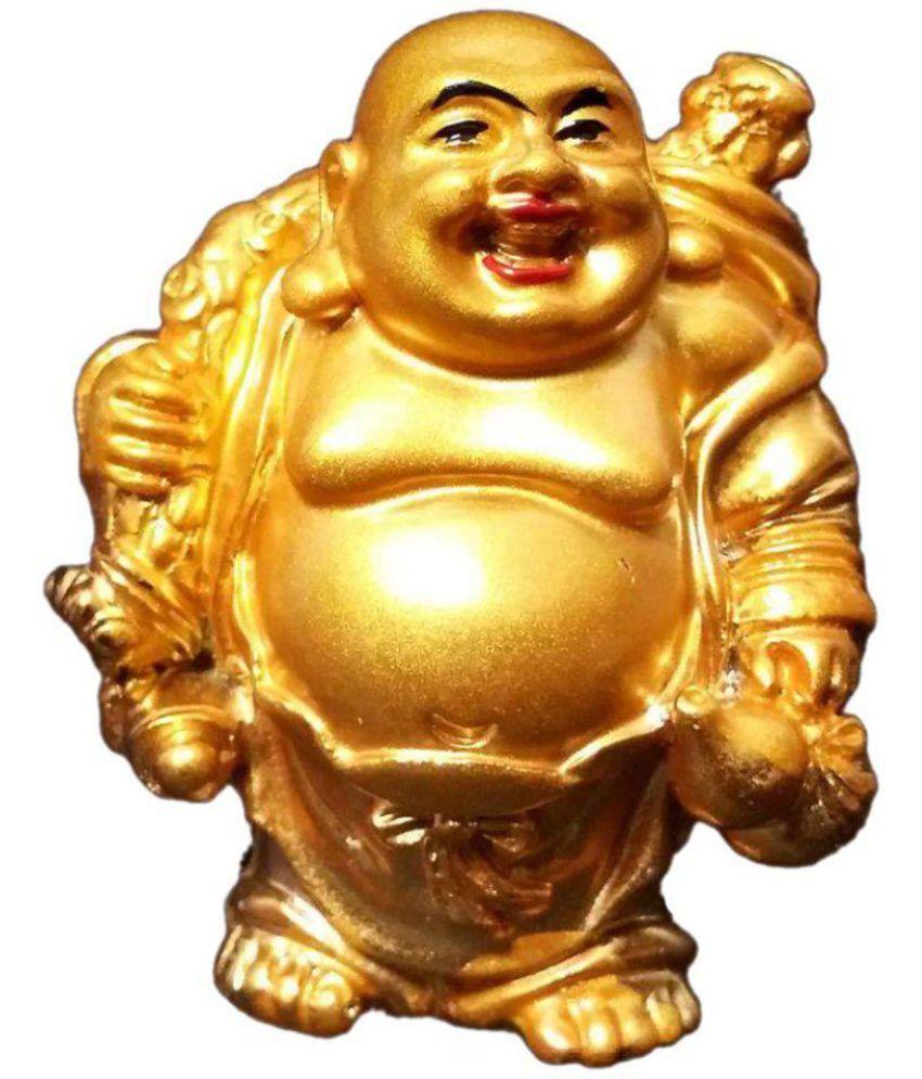 Dwivedi And Sons Buddha Polyresin Idol