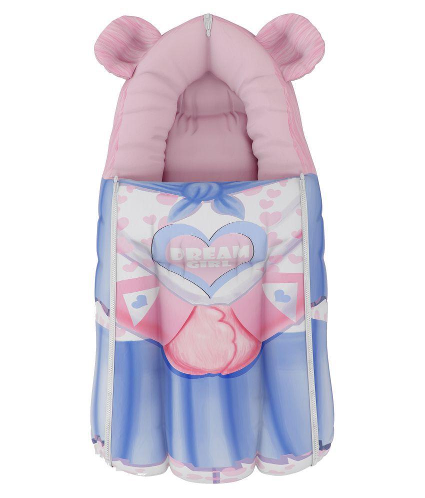 FANCY FLUFF Multi-Colour Cotton Sleeping Bags ( 28 cm × 25 cm)