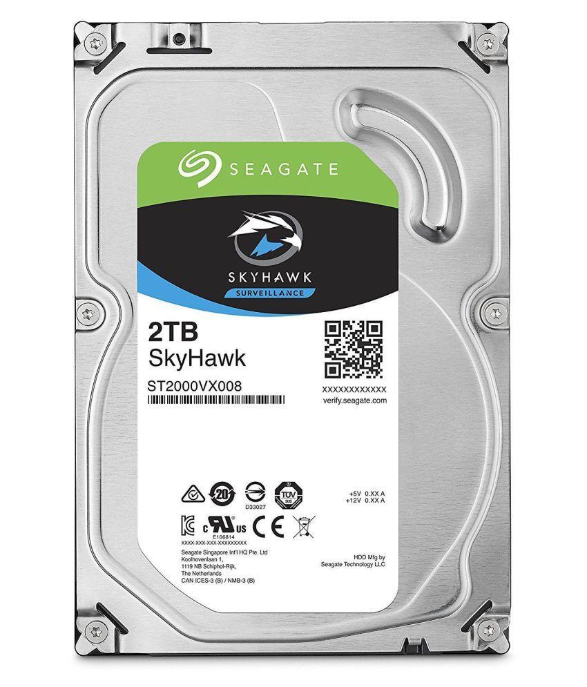 Seagate ST2000VX008 2 TB Internal Hard Drive Internal Hard drive