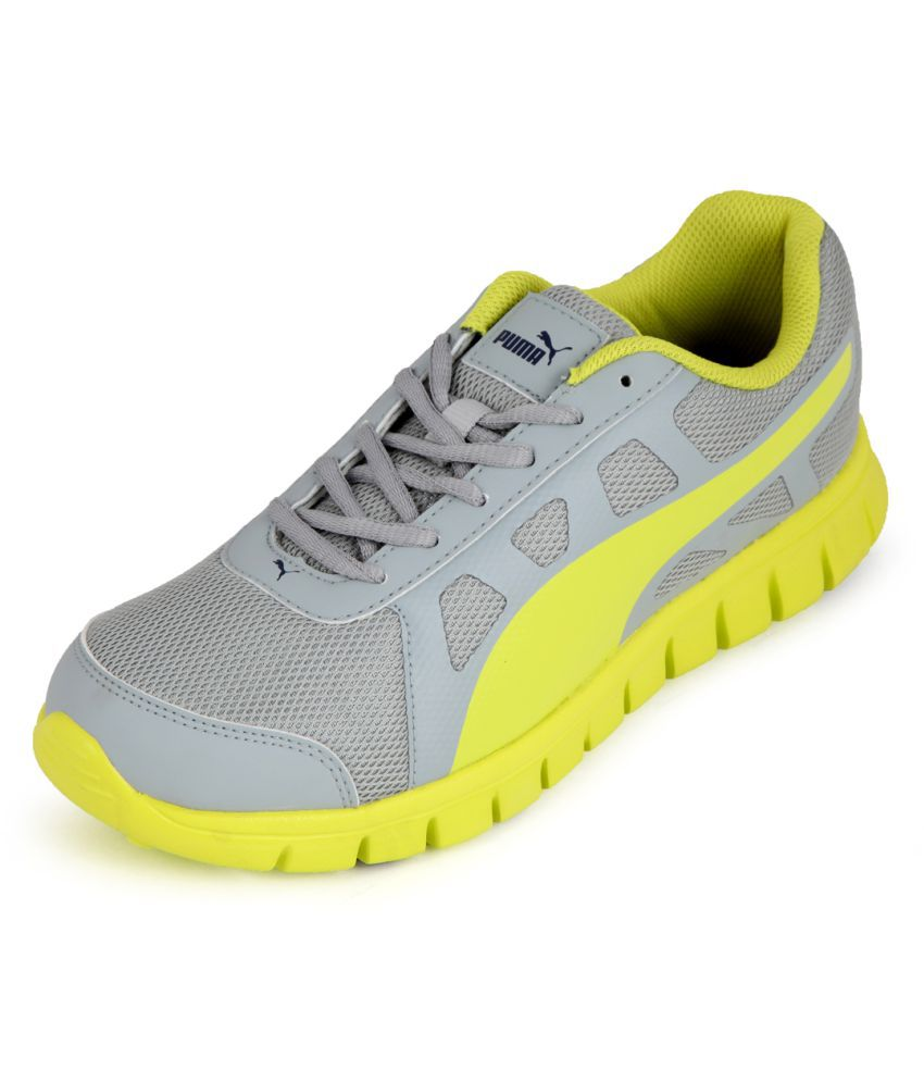 Puma Yellow Running Shoes - Buy Puma Yellow Running Shoes Online at Best  Prices in India on Snapdeal 081f8b529