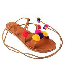 BEAUTY CRAFT Multi Color Flats