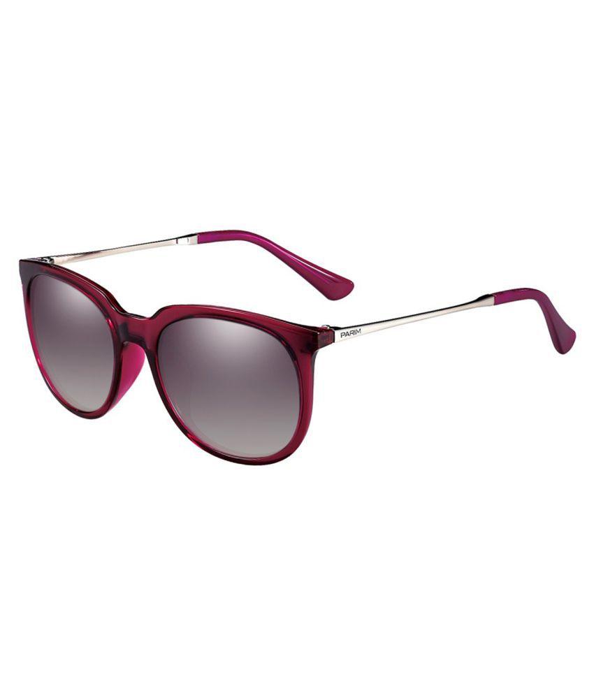 Parim Voilet Rectangle Sunglasses ( 1286 V1 )