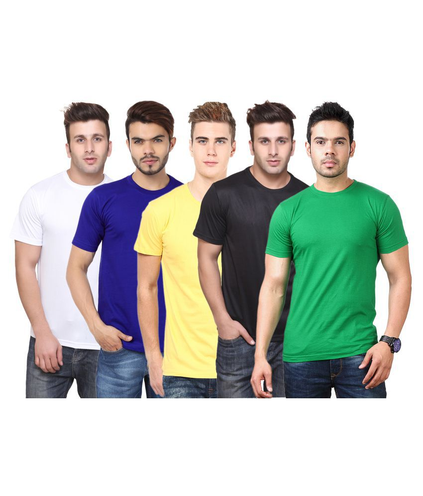 CONCEPTS Multi Polyester T-Shirt Pack of 5