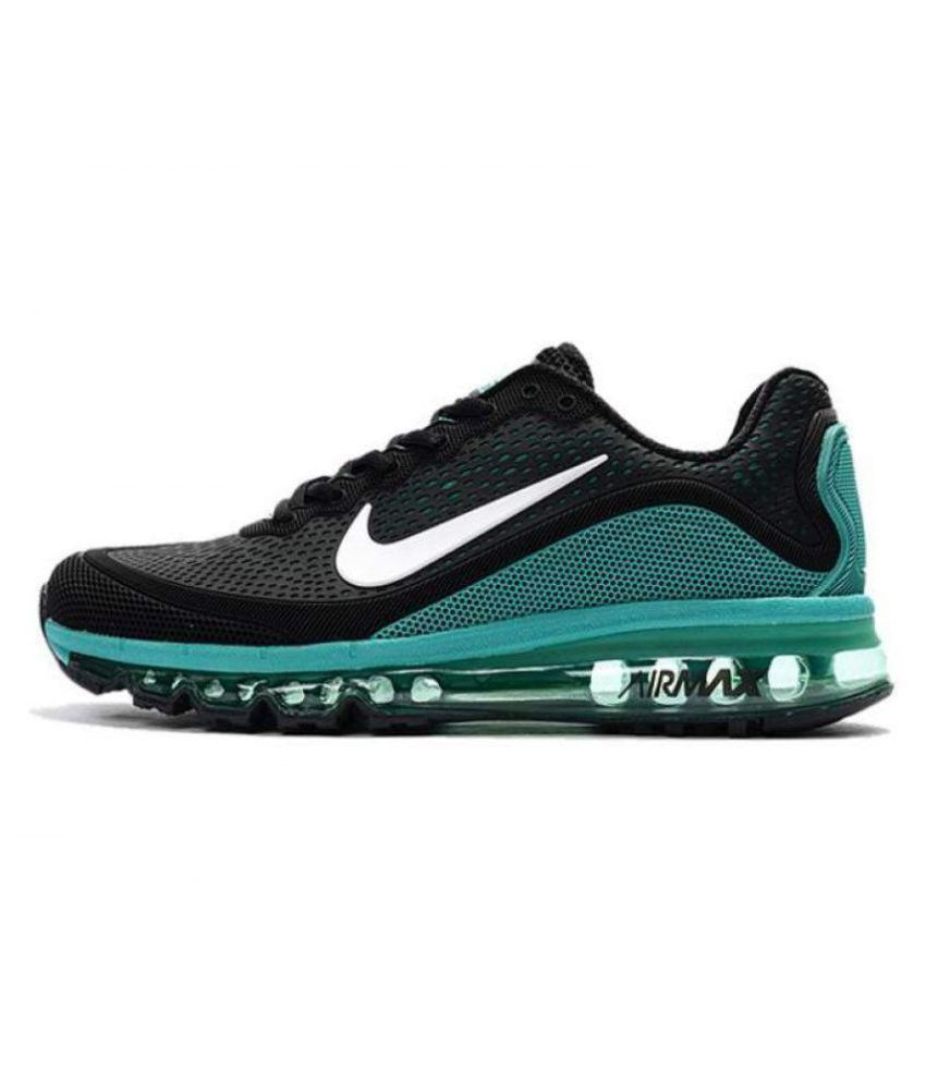 7e6b856585 Nike Airmax 2018 Green Running Shoes - Buy Nike Airmax 2018 Green Running  Shoes Online at Best Prices in India on Snapdeal