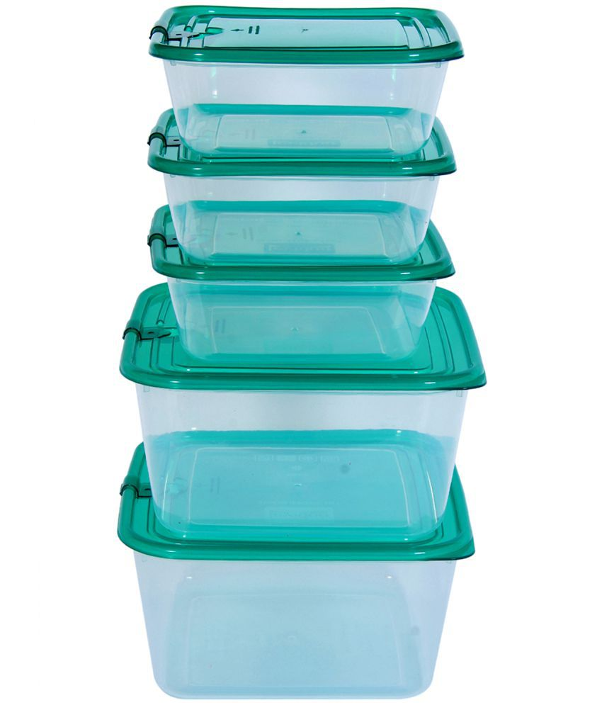 OPALEENA KIT17207 Polycarbonate Food Container Set of 5