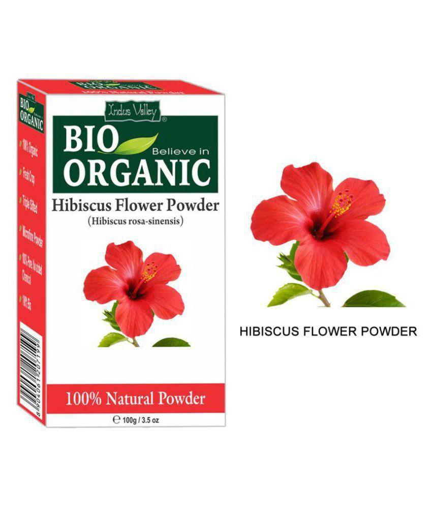 Hibiscus flower powder for hair growth best image of flower indus valley bio anic 100 hibiscus powder hair scalp izmirmasajfo