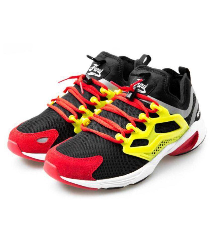 super popular 26fc1 6f65b Reebok Fury Adapt Yellow Running Shoes Reebok Fury Adapt Yellow Running  Shoes ...