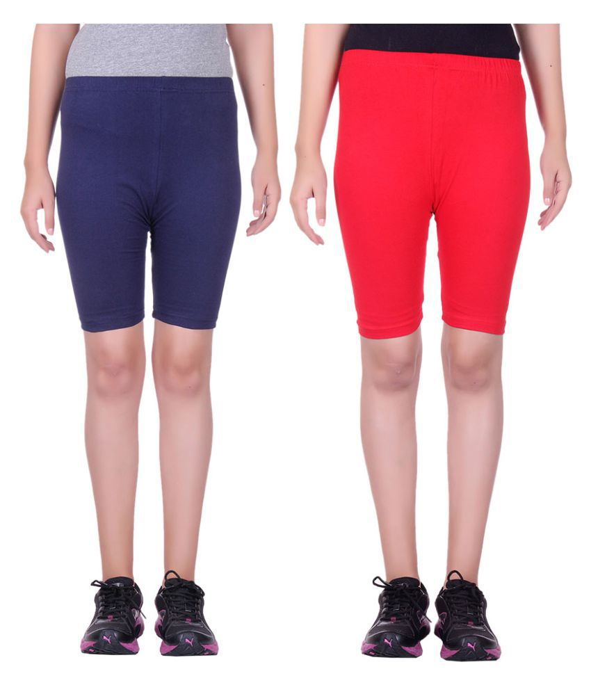 Belmarsh Girls Cycling Shorts - Pack of 2