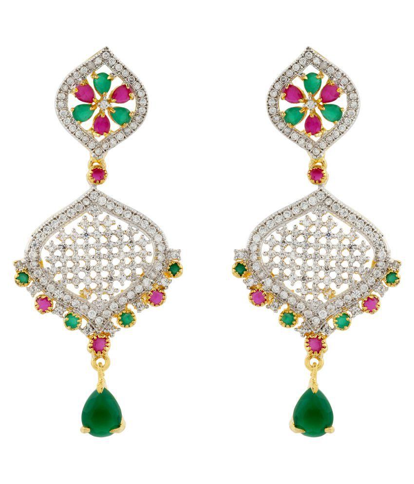 Silveria Women Party Wear Designer Stylish Earring Set