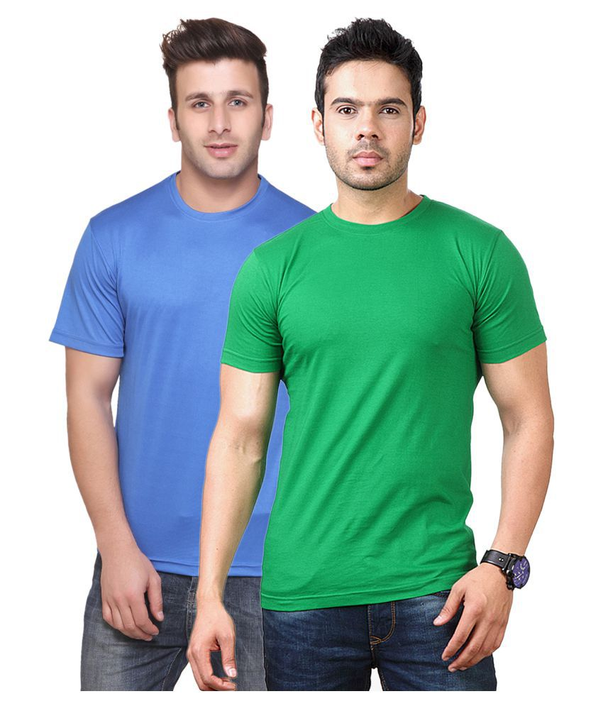 FUNKY GUYS Multi Round T-Shirt Pack of 2