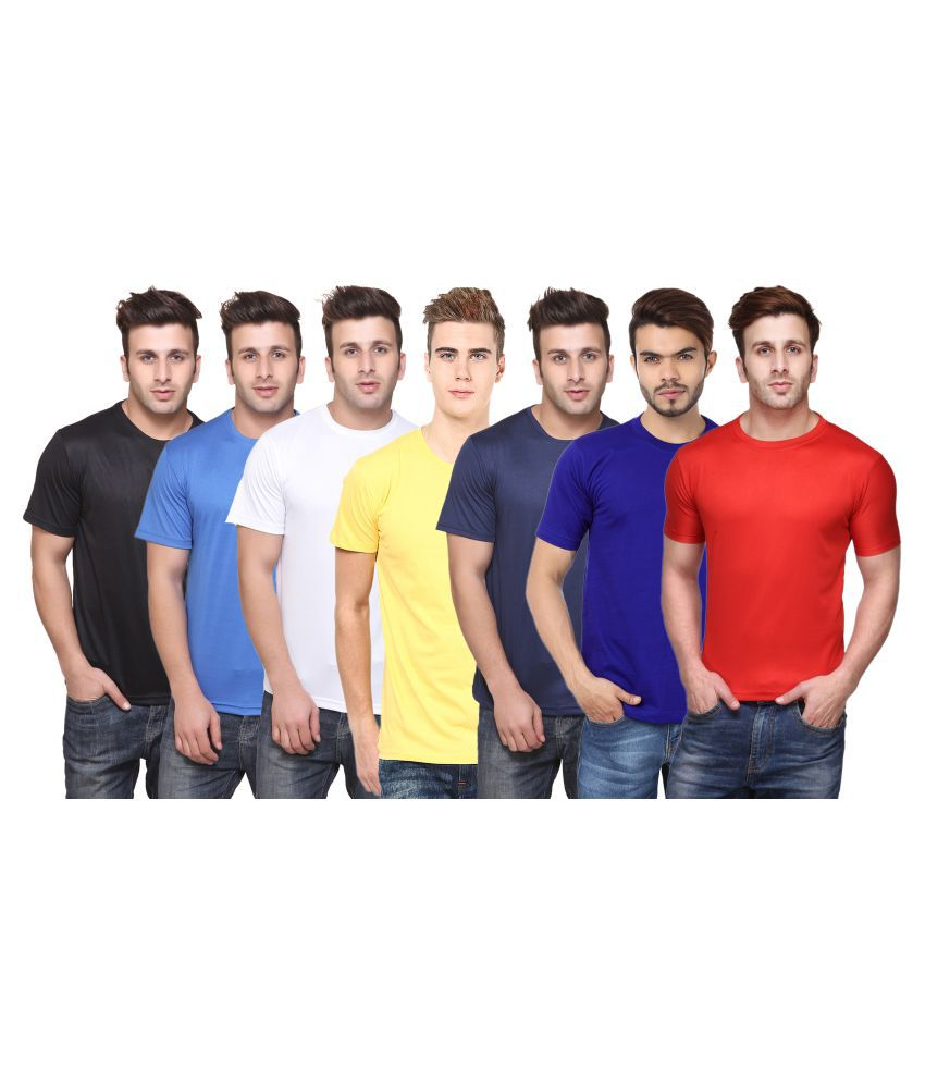 CONCEPTS Multi Round T-Shirt Pack of 7