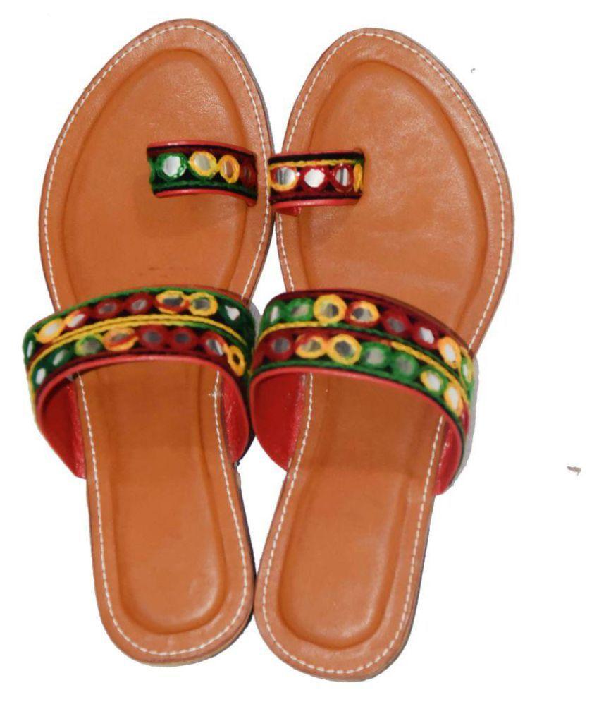 Decot Paradise Multi Color Ethnic Footwear