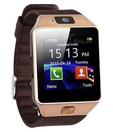 TSV 001 Compatible With Samsung Galaxy J7 Prime Golden Smart Watches