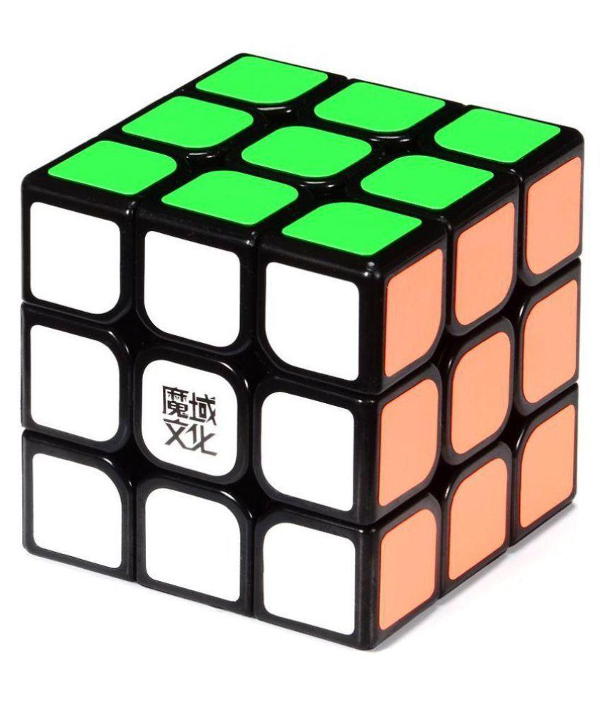 Webby AoLong V2 3x3x3 Speed Cube Enhanced Edition Black