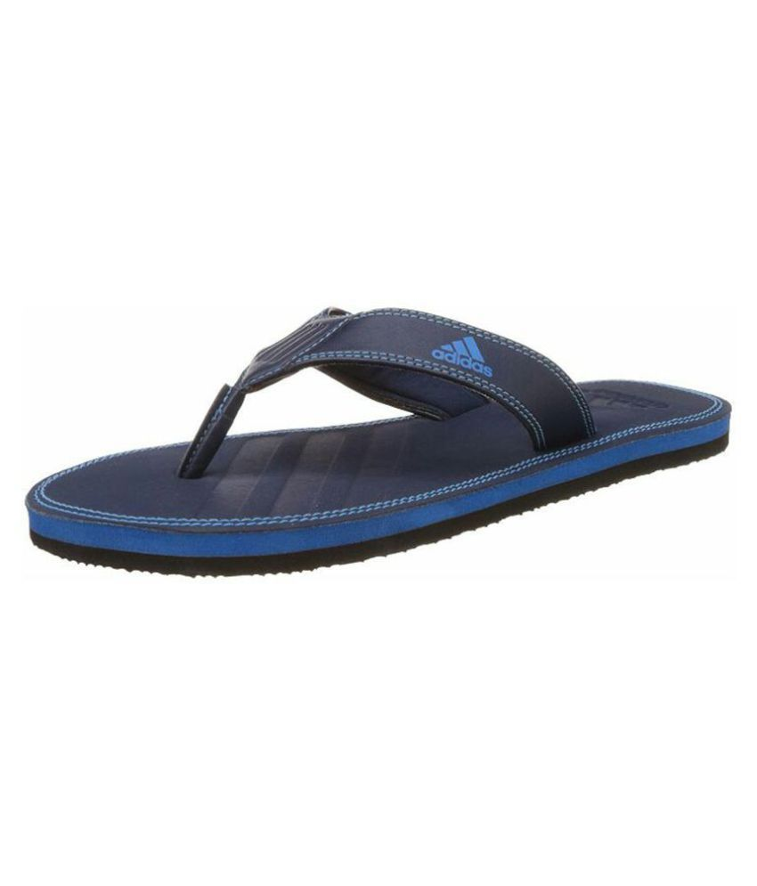 Adidas Blue Daily Slippers