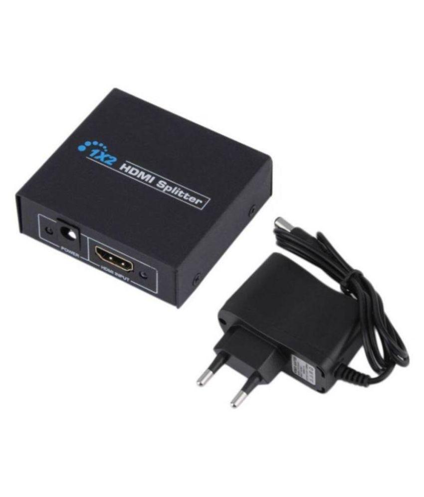 Terabyte HDMI 1x2 Splitter (2 Ports) HDMI Splitter Power Adaptor