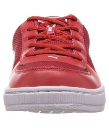 Puma Contest Lite Jr DP red-white Lifestyle Red Casual Shoes