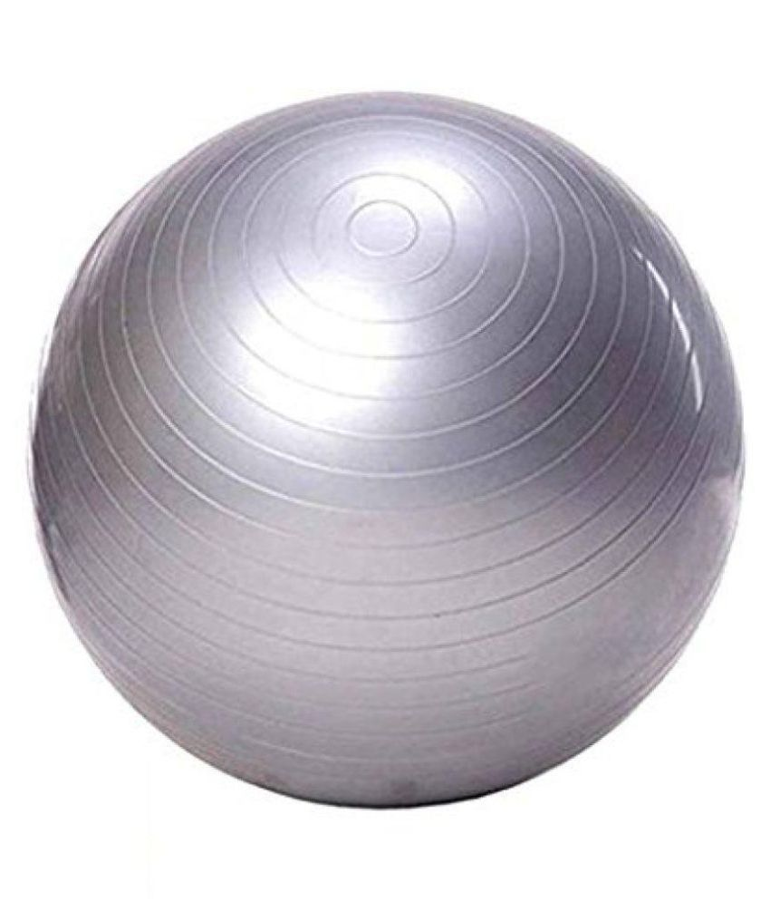 Buy 75cm Exercise Ball: Size: 75 Cm (Pack Of 1, Silver): Buy Online At