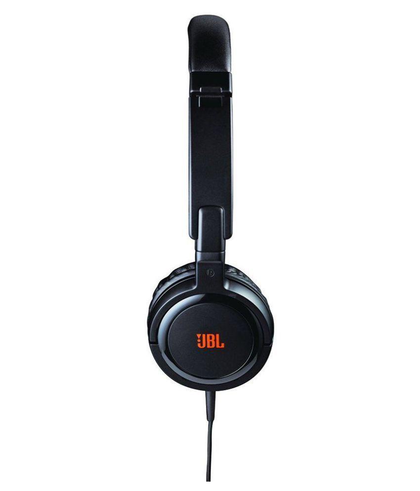 9c26c13420e Bluei JBL Tempo J03B On Ear Wired Headphones Without Mic - Buy Bluei ...