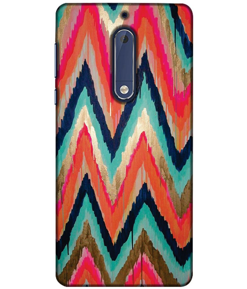 Nokia 5 3D Back Covers By Printland