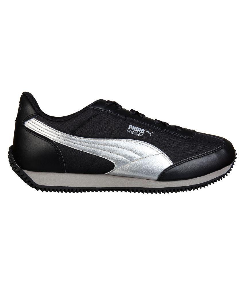 a5a495b663a1 Puma Speeder Tetron II Ind. Black Casual Shoes - Buy Puma Speeder ...