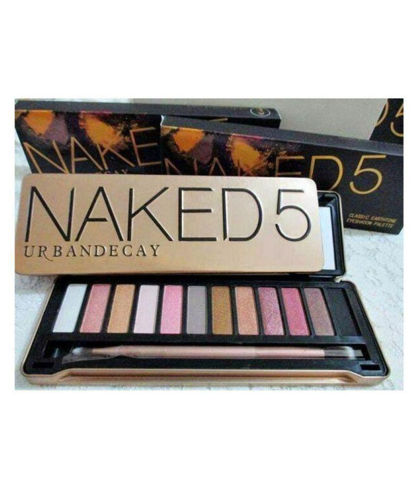 Urban Decay Naked 5 Classic Earthtone Eyeshadow 12 Colour