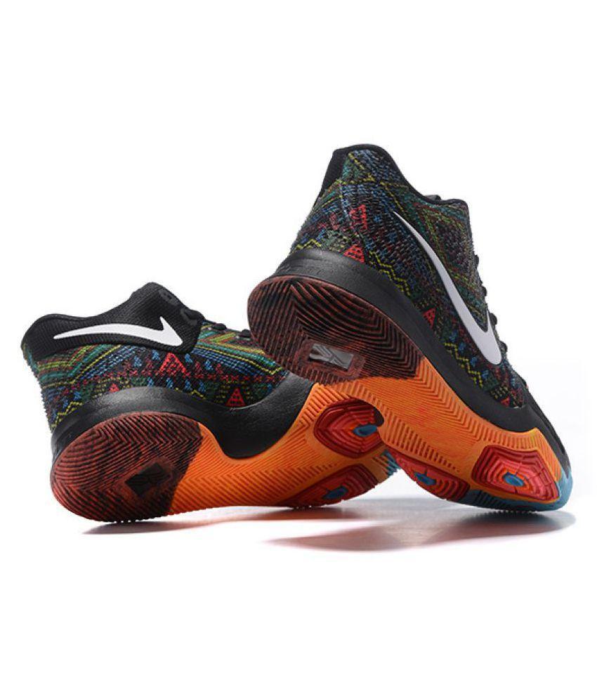 sports shoes 6709e 1f0f3 ... Nike Kyrie 3 BHM Multi Color Basketball Shoes