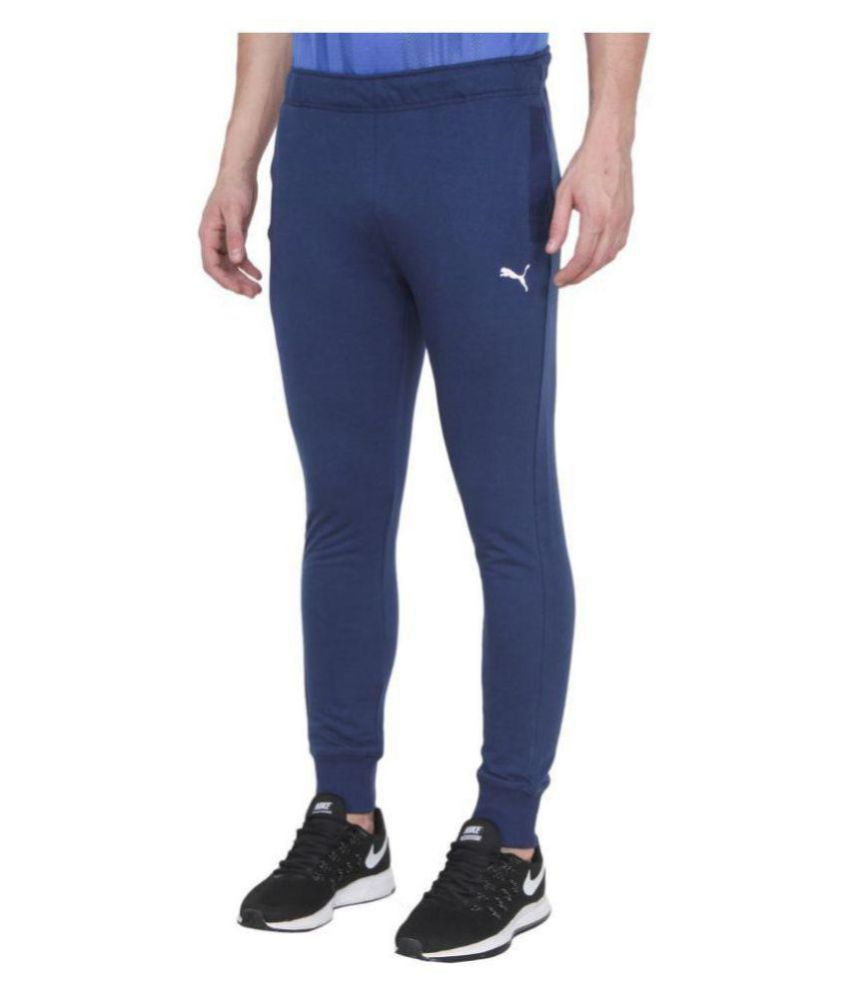 Alini Navy Blue Polyester Trackpant ( With Puma Signature)