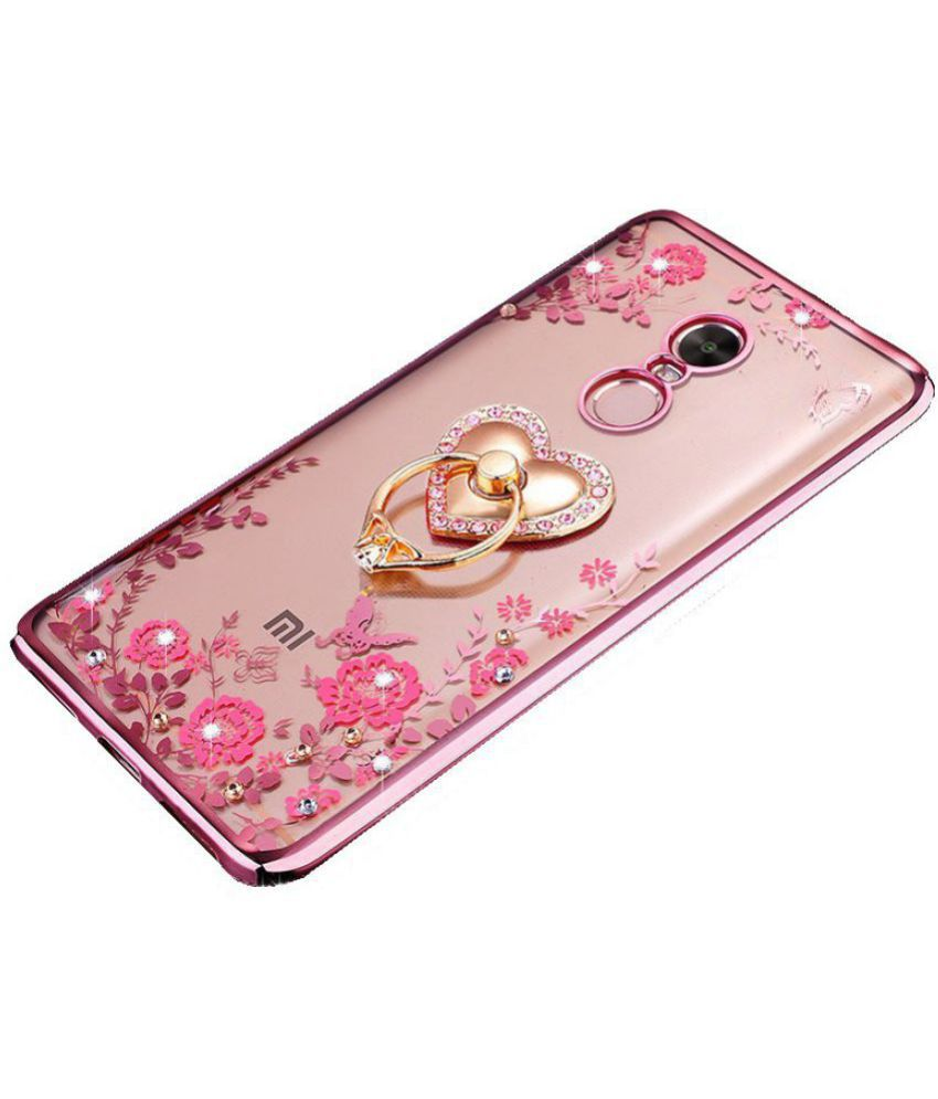 more photos 1d0e5 f0c24 Xiaomi Redmi Note 5 Plain Cases LOXXO - Rose Gold