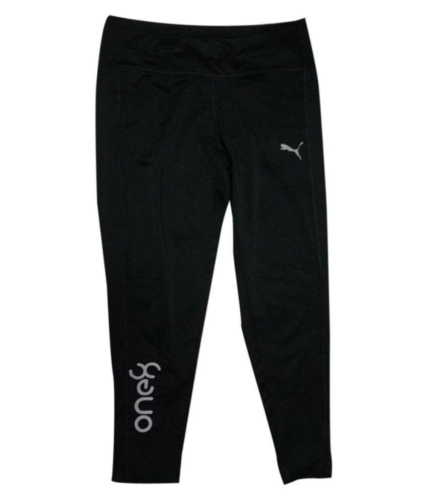 Puma Black Women/Girl's  track pants