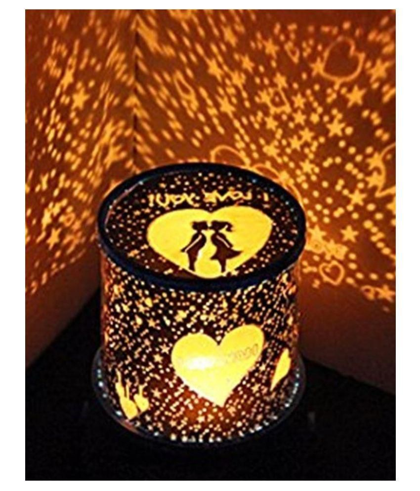 Crobat LOVE SPECIAL NIGHT LAMP Night Lamp Blue - Pack Of 1