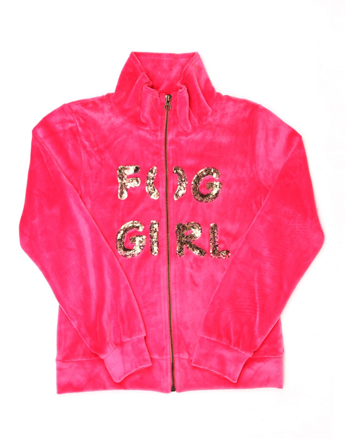 London Fog Girls Pink Full Sleeve Jacket