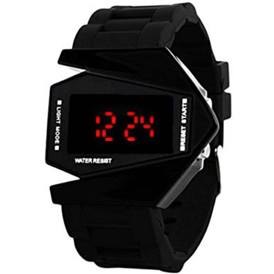 SIMONE Black Digital Kid's Attractive SIMONE006 Watch - For Boys & Girls