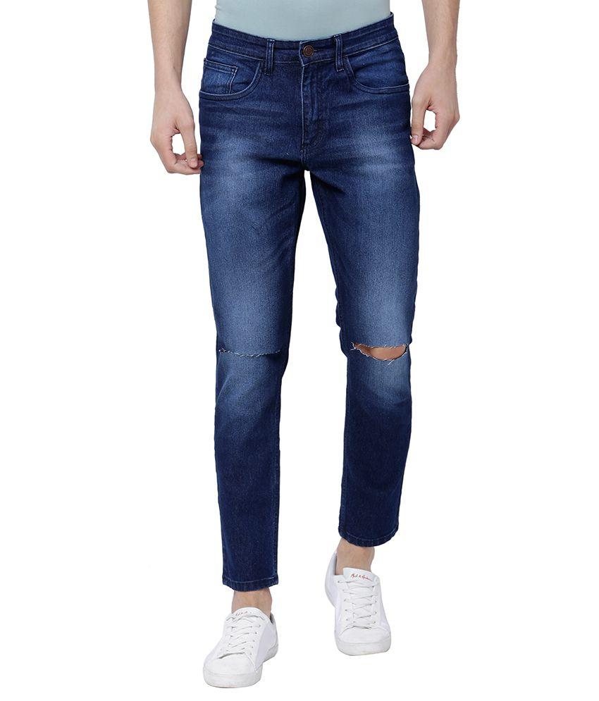 Highlander Navy Blue Slim Jeans
