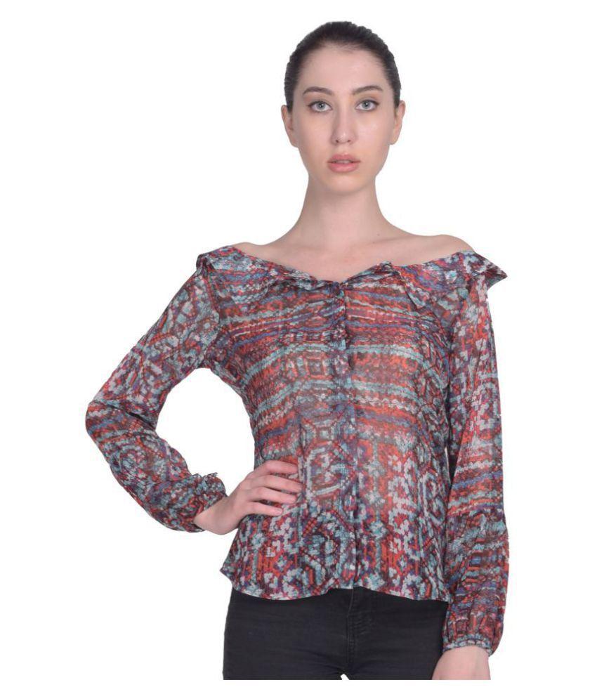 Peppytone Poly Georgette Shirt