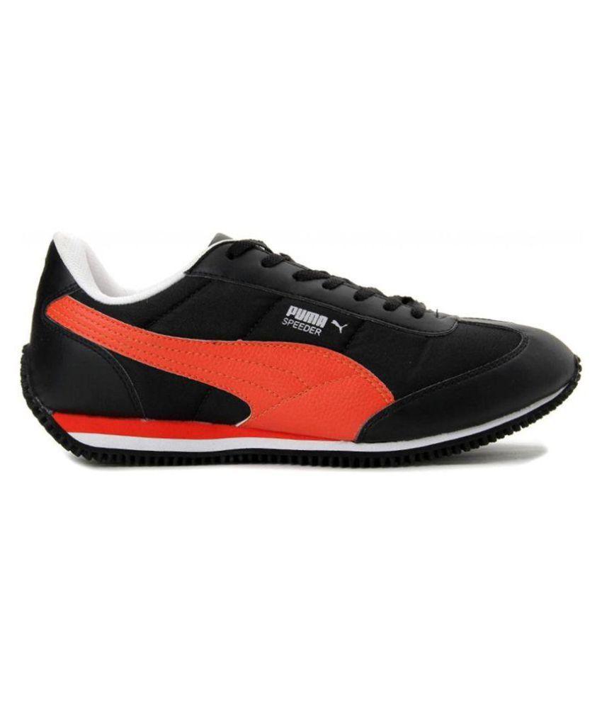 28f96b6ed394 Puma Speeder Sneakers Black Casual Shoes - Buy Puma Speeder Sneakers ...