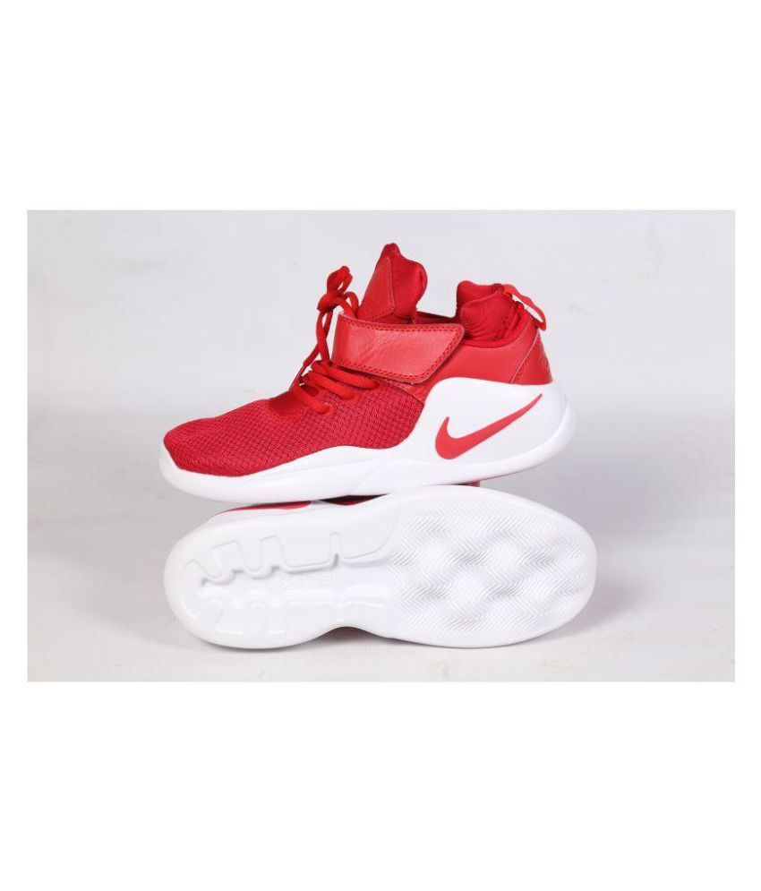 Nike Kwazi Men Red Red Basketball Shoes - Buy Nike Kwazi Men Red Red  Basketball Shoes Online at Best Prices in India on Snapdeal 8a2140f26