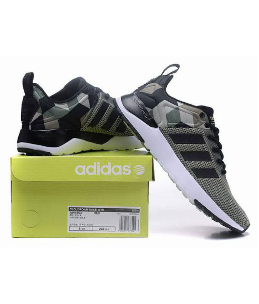 Adidas Cloudfoam Green Running Shoes
