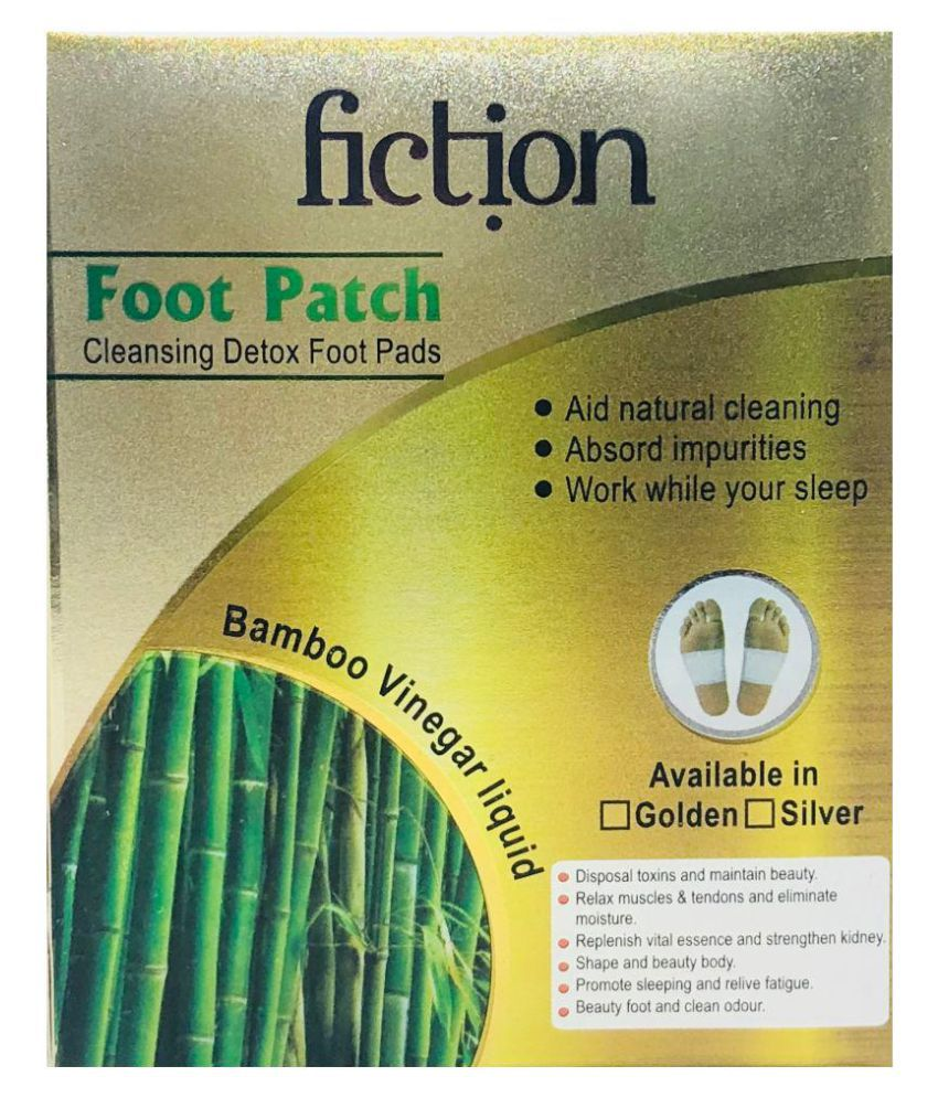 Fiction Detox Foot Patch Toxins Remover, Weight Loss Adhesive Pads Regular