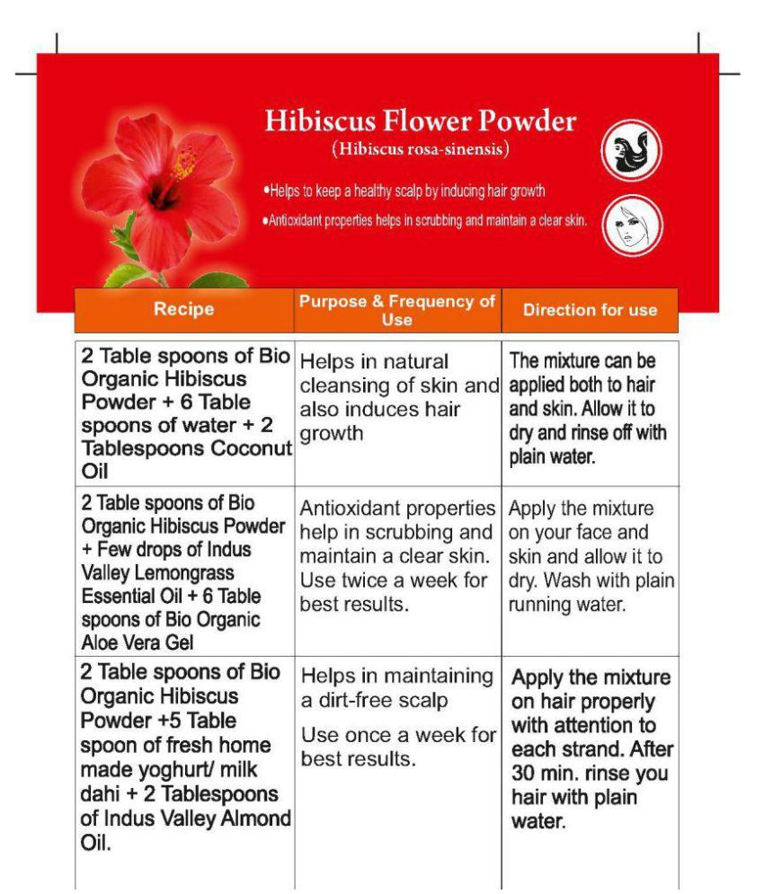 Indus Valley Hibiscus With Coconut Oil Hair Scalp Treatment 275 Gm