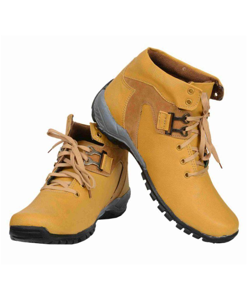 ROCK CRACK Tan Formal Boot