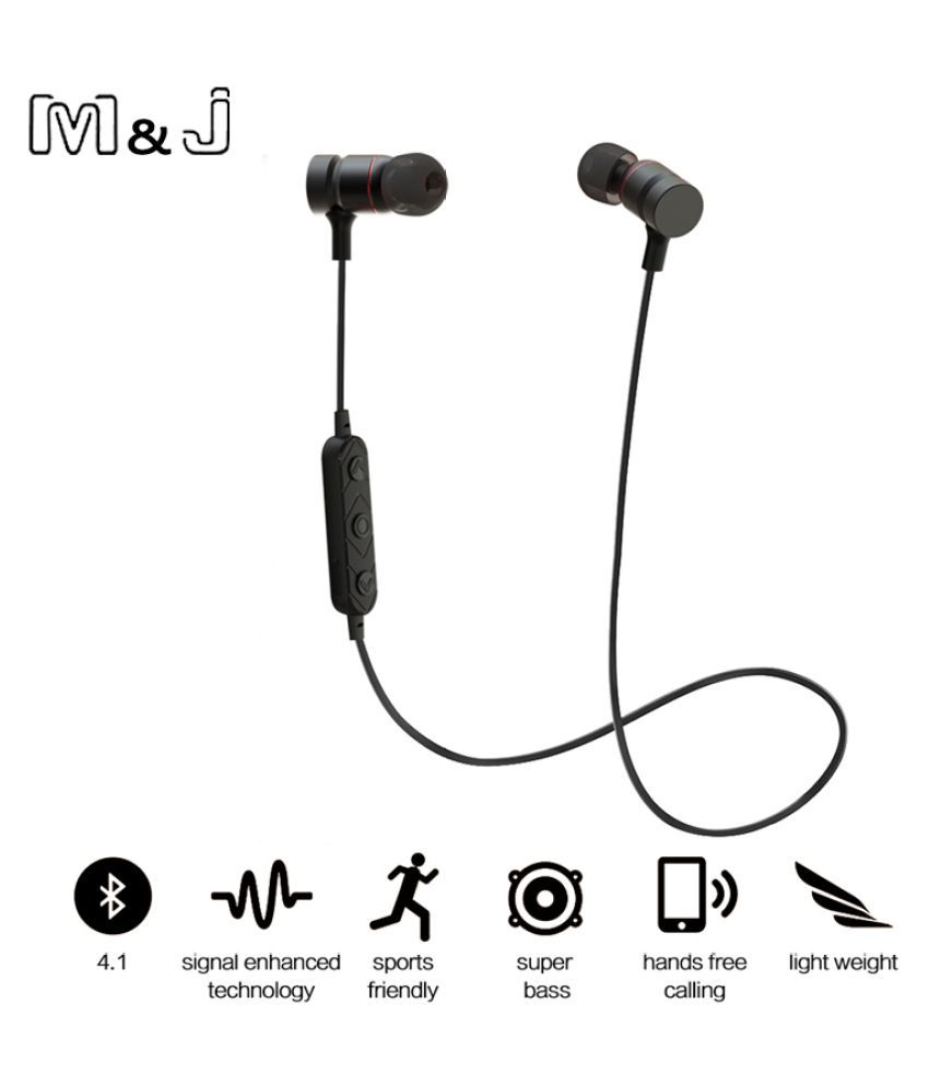 4a55da8cbf2 WowObjects M&J HT9 Bluetooth Headphones Sport Running With Mic Earbud  Wireless Earphones Bass Bluetooth Headset For iPhone mp3 - Buy WowObjects  M&J HT9 ...