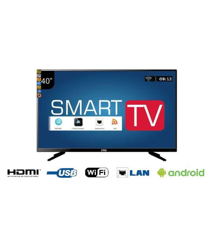 ITH AKV4200S 101 cm ( 40 ) Full HD Smart Android  (FHD) LED Television