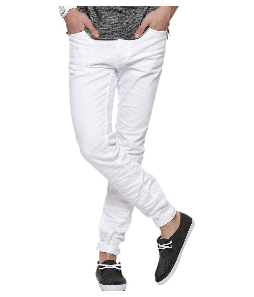 Halogen White Skinny Jeans
