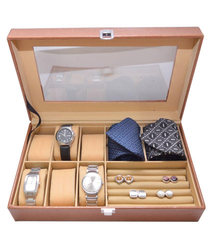 Knott Tan Watch Cases - 1 Pc