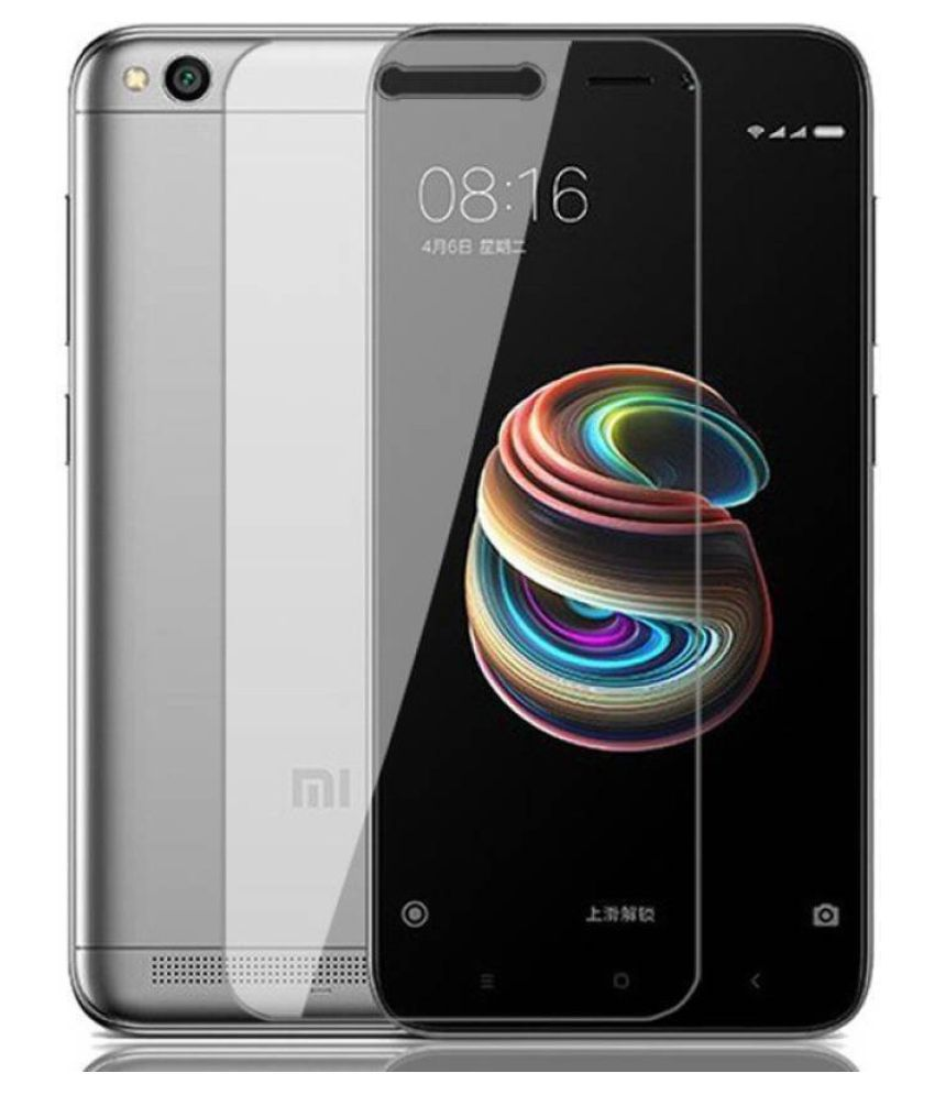 Redmi 5A Tempered Glass Screen Guard By ABS & ABC